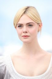 """Elle Fanning - """"The Beguiled"""" Photocall at Cannes Film Festival 05/24/2017"""