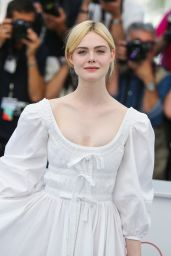 "Elle Fanning - ""The Beguiled"" Photocall at Cannes Film Festival 05/24/2017"