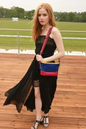 Ellie Bamber – Audi Polo Challenge at Ascot, UK 05/06/2017