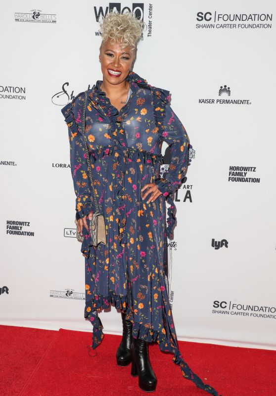 Emeli Sande – Wearable Art Gala in California African American Museum in LA 04/29/2017