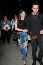 Emeraude Toubia With Prince Royce at TAO Los Angeles 05/11/2017