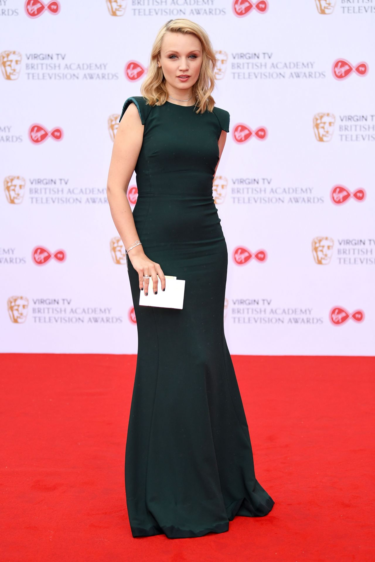 Emily Berrington Bafta Tv Awards In