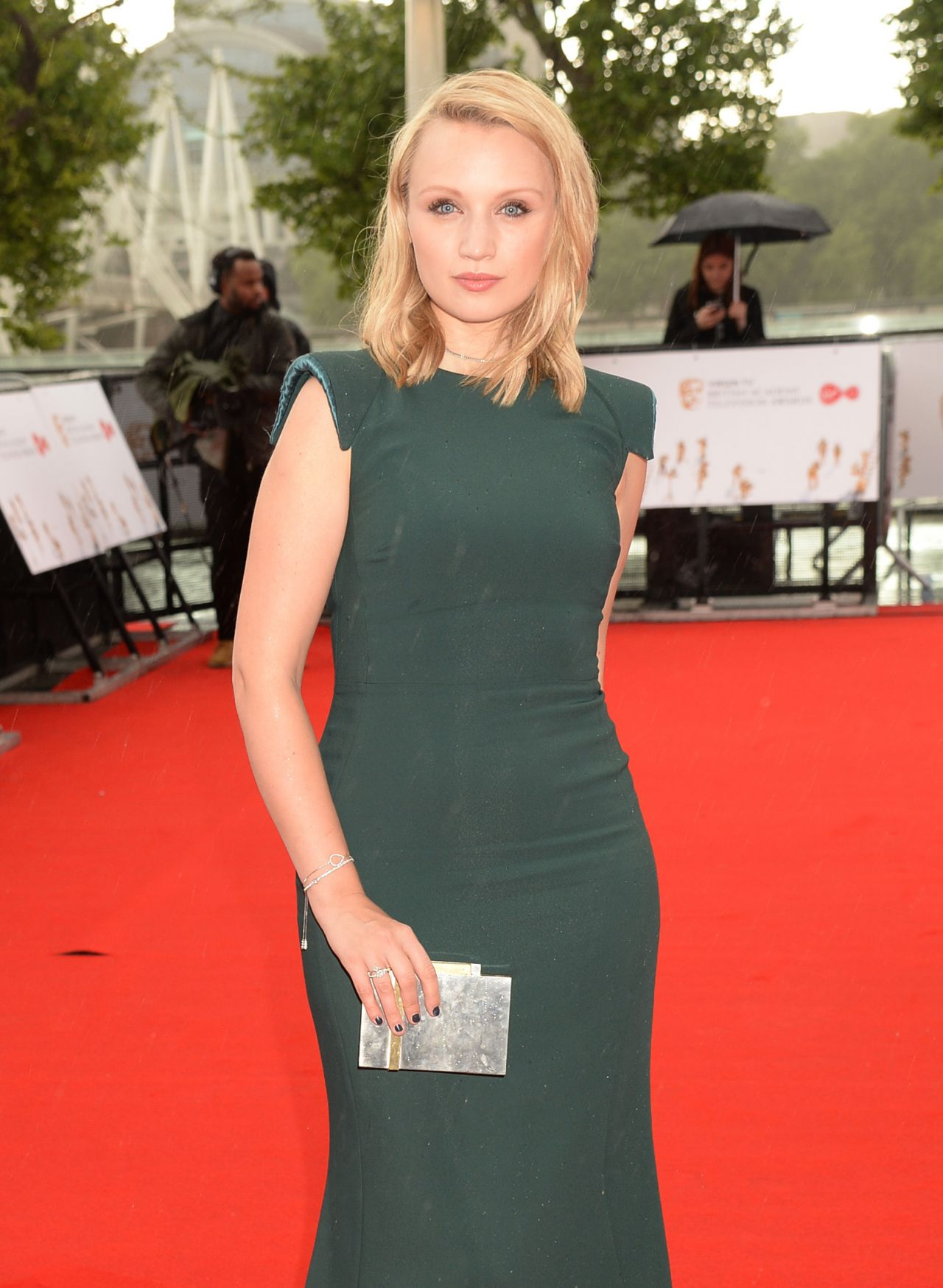 Emily Berrington Bafta Tv Awards In London 05 14 2017