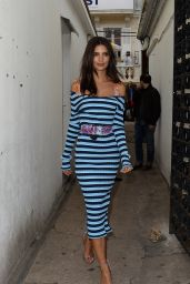 Emily Ratajkowski - Arrives for a Party on the Croisette in Cannes 05/18/2017