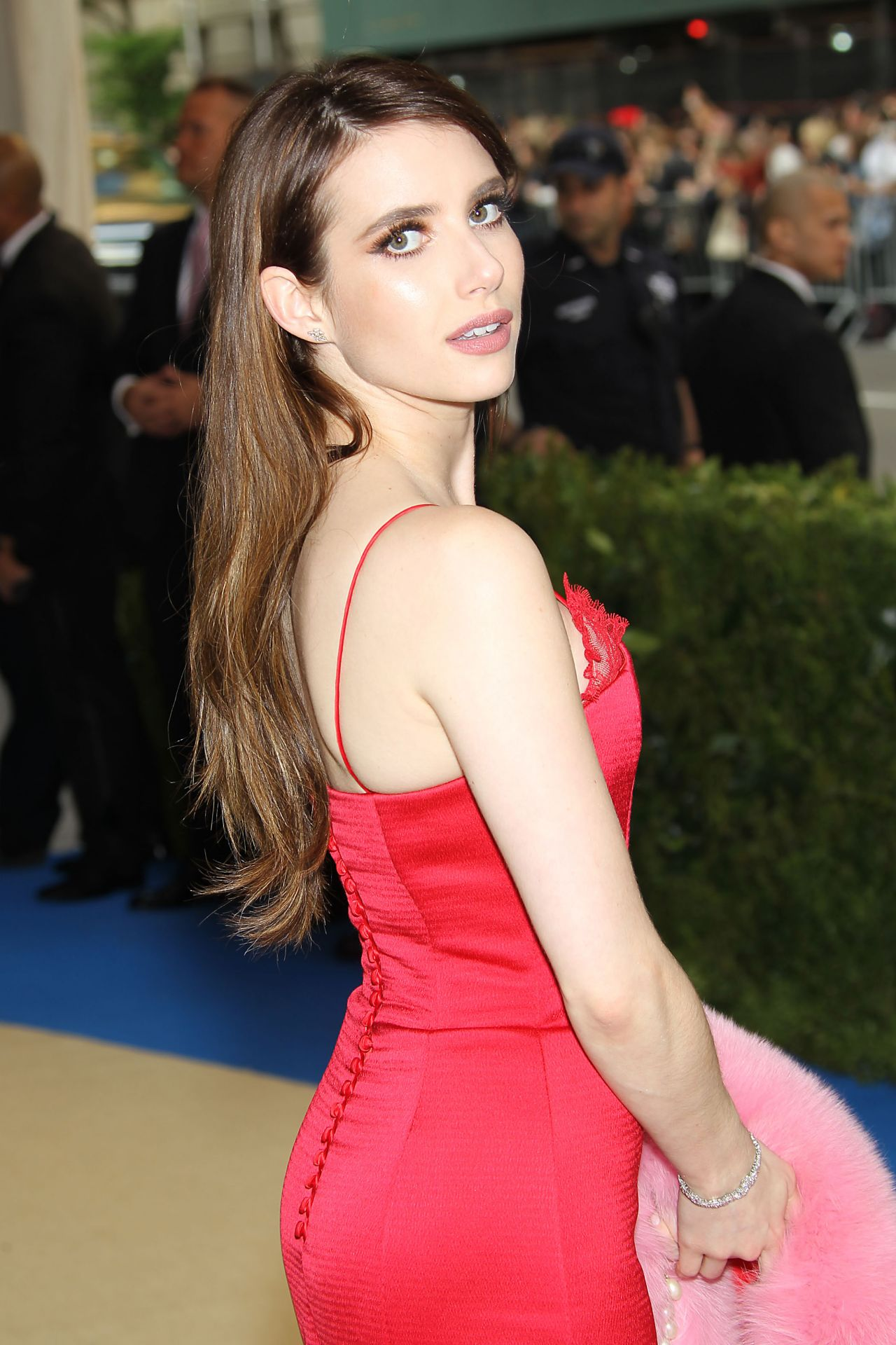 Emma Roberts at MET Costume Institute Gala in New York 05 ... Emma Roberts