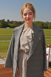 Emma Stone - Audi Polo Challenge in Ascot, England 05/07/2017