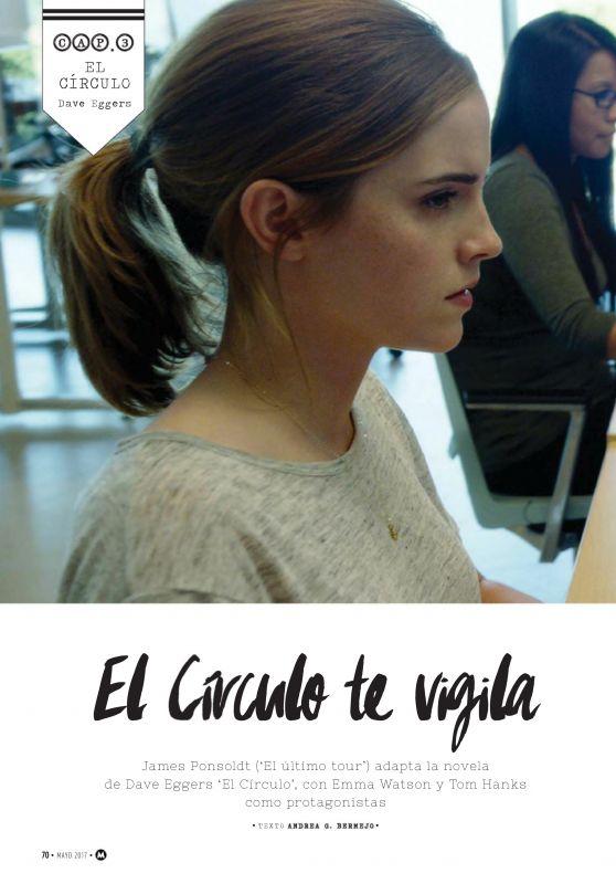 Emma Watson - Cinemania N260 May 2017 Issue