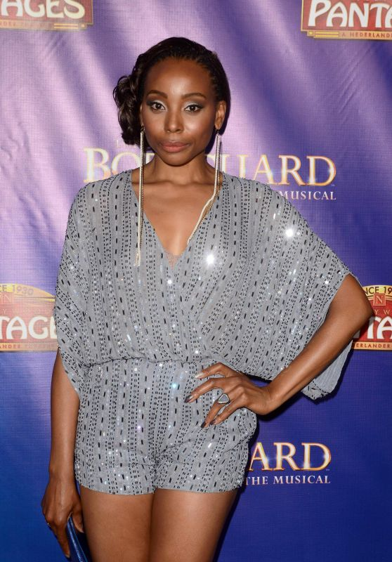 "Erica Ash – ""The Bodyguard"" Opening Night in Los Angeles 05/02/2017"