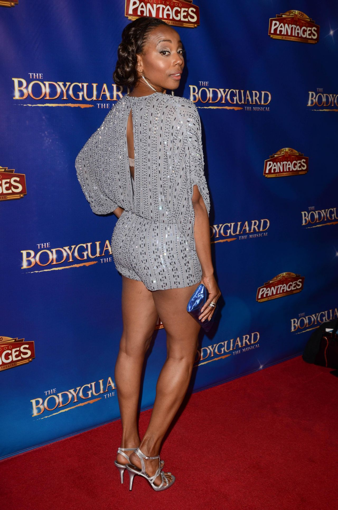 Erica Ash  The Bodyguard Opening Night In Los Angeles -7885
