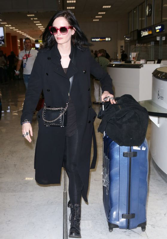 Eva Green - Nice Airport, France 05/25/2017