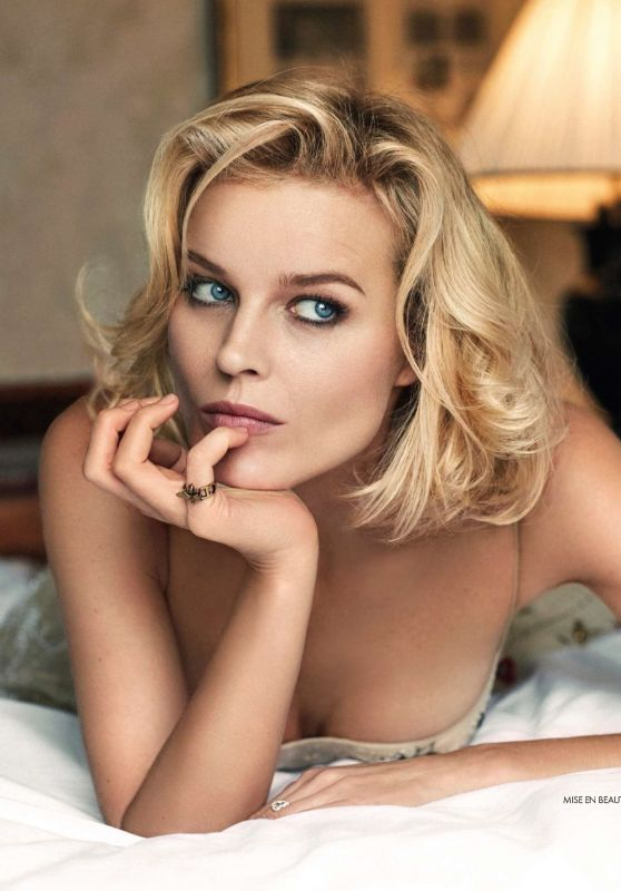 Eva Herzigova - Elle Magazine France May 2017 Issue