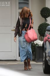 Eva Mendes - Leaving Epione Cosmetic Clinic in Beverly Hills 05/11/2017