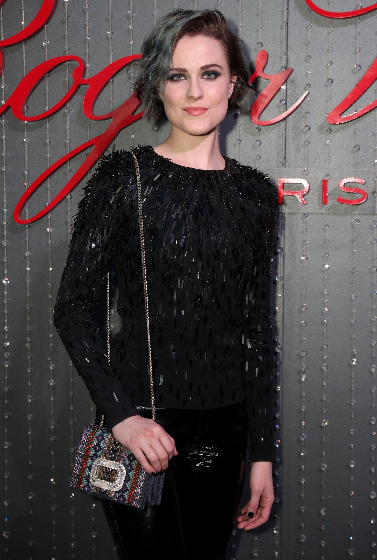 Evan Rachel Wood – Roger Vivier Event in LA 05/04/2017 Evan Rachel Wood