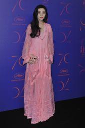 Fan Bingbing at 70th Anniversary Dinner - Cannes Film Festival 05/23/2017