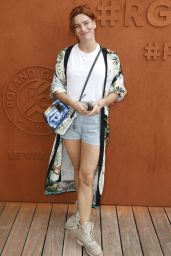 Fauve Hautot – French Tennis Open at Roland-Garros Arena in Paris 05/30/2017