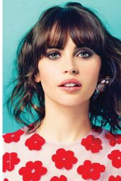 Felicity Jones - Petra Magazine June 2017 Issue
