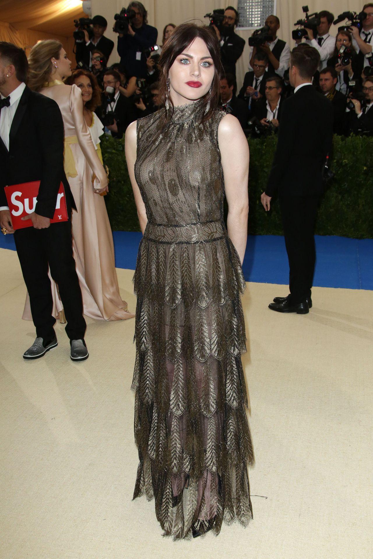 Frances Bean Cobain At Met Costume Institute Gala In New
