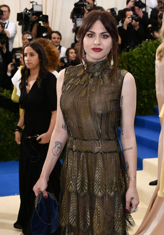 Frances Bean Cobain at MET Costume Institute Gala in New York 05/01/2017