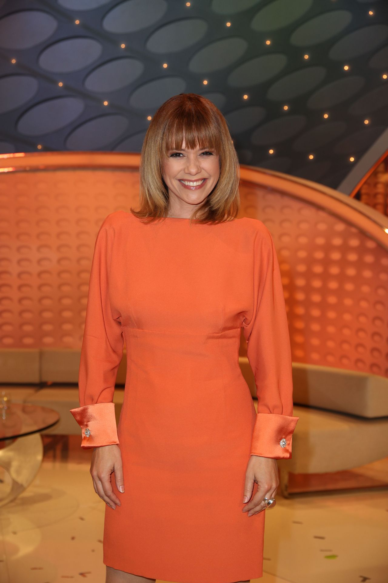 Francine Jordi At Willkommen Bei Carmen Nebel Tv Show In