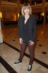 Francine Jordi at Willkommen bei Carmen Nebel TV Show in Berlin 05/20/2017