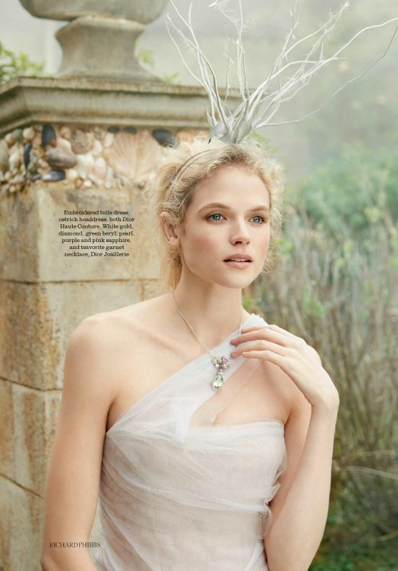 Gabriella Wilde - Town & Country Magazine UK Summer 2017 Issue