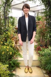 Gemma Arterton at Chelsea Flower Show in London, UK 05/22/2017