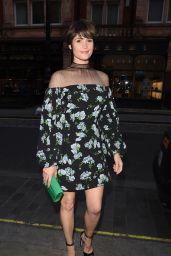 Gemma Arterton - Leaving Scott