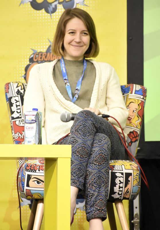Gemma Whelan at German Comic Con, Munich 05/27/2017