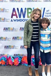 Genevieve Hannelius - Art In The Afternoon at Venice Skills Center, CA 05/06/2017