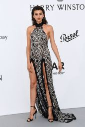 Georgia Fowler – AmfAR's 24th Cinema Against AIDS Gala – Cannes Film Festival 05/25/2017