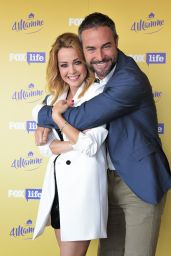 Georgia Luzzi - 4 MAMME Format TVFoxLife Photocall in Milan, Italy 05/29/2017