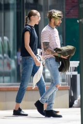 Gigi Hadid and Zayn Malik - Out in NYC 05/28/2017
