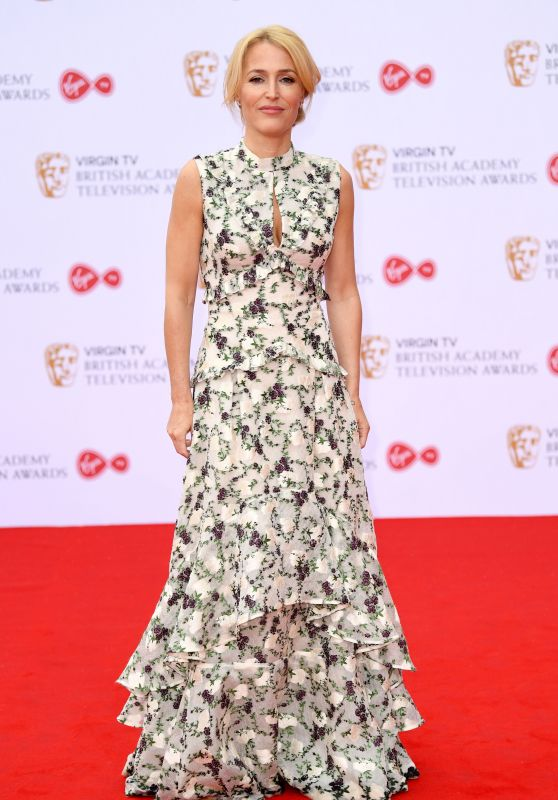 Gillian Anderson – BAFTA TV Awards in London 05/14/2017