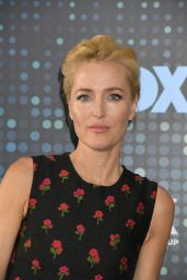Gillian Anderson – Fox Upfront Presentation in NYC 05/15/2017