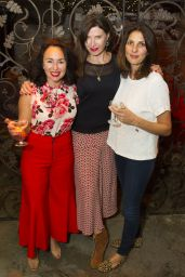 """Gina Bellman – """"Our Ladies of Perpetual Succour"""" Press Night in London 05/15/2017"""