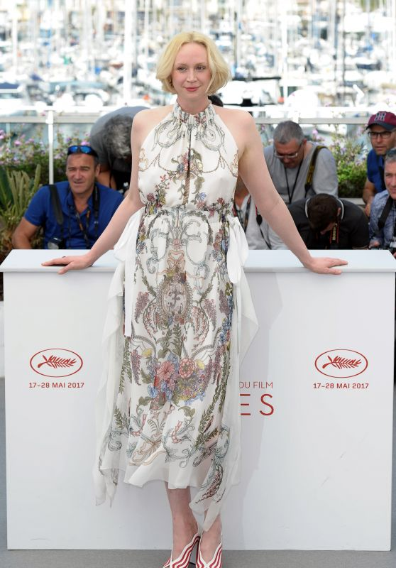 "Gwendoline Christie at ""Top of the Lake: China Girl"" Photocall – 70th Cannes Film Festival"