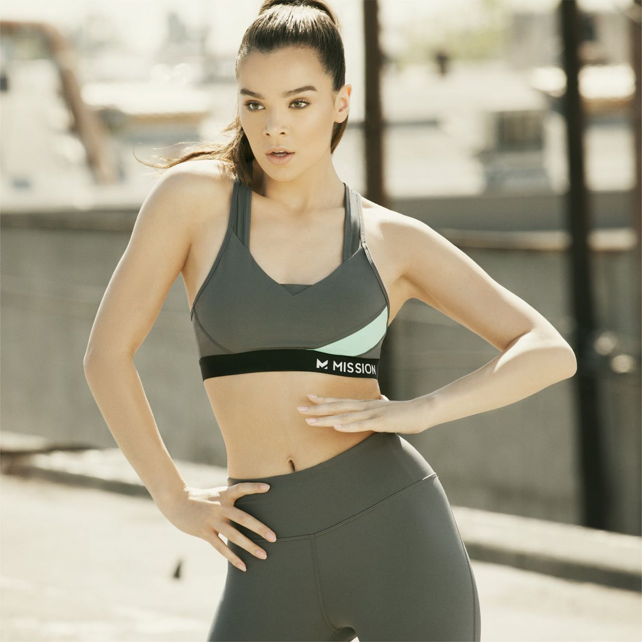 Hailee Steinfeld - Mission Activewear Line Campaign 2017-9898