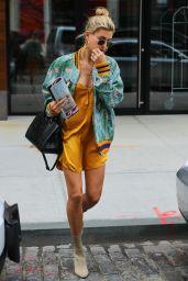 Hailey Baldwin Looks Stylish - New York City 05/28/2017
