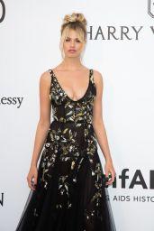 Hailey Clauson – amfAR's 24th Cinema Against AIDS Gala in Cannes 05/25/2017