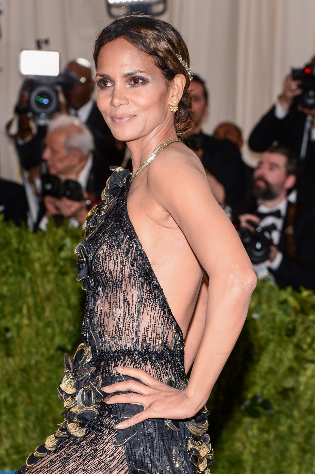 Halle Berry at MET Gal... Halle Berry