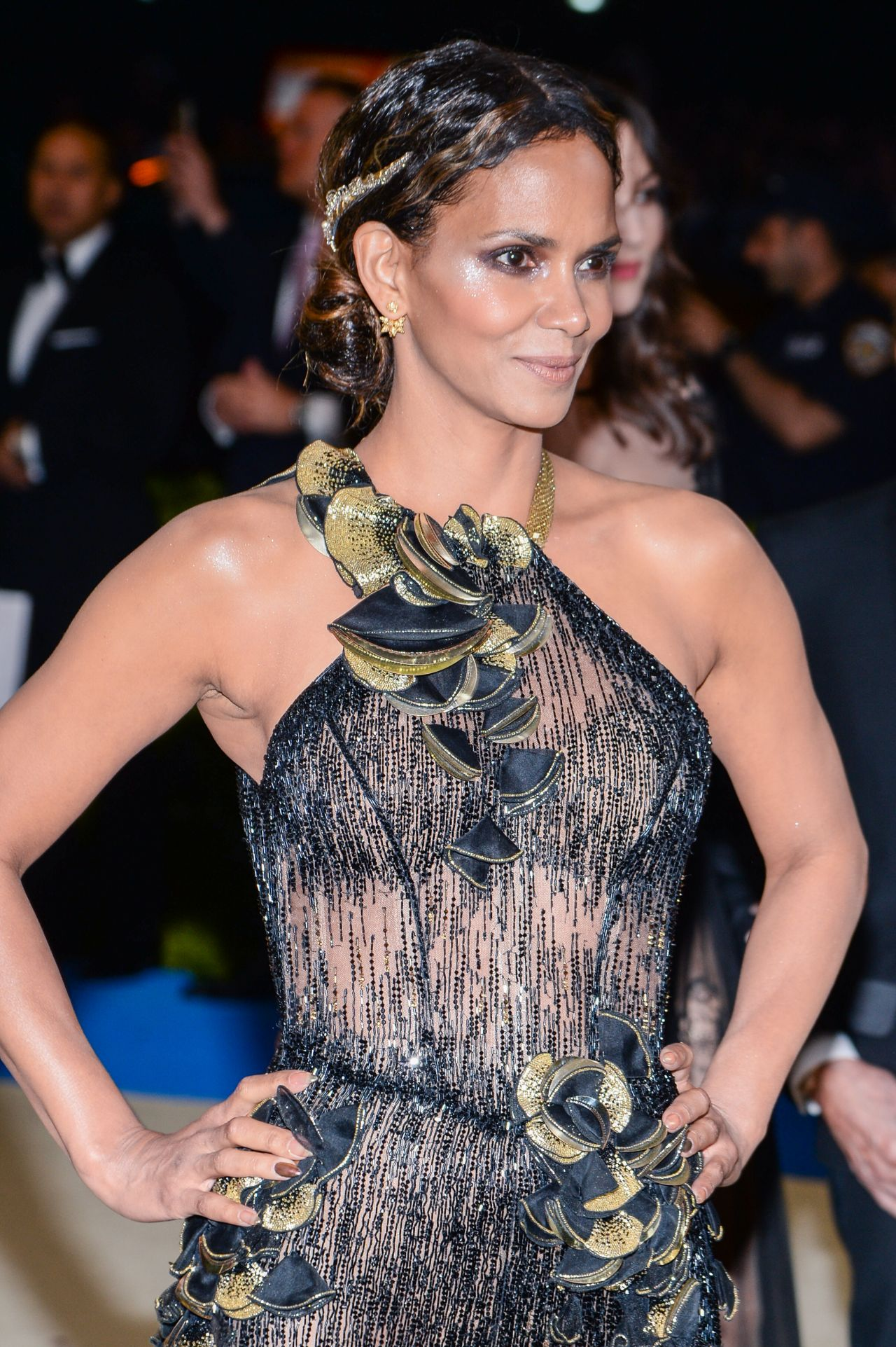 Halle Berry at MET Gala in New York 05/01/2017