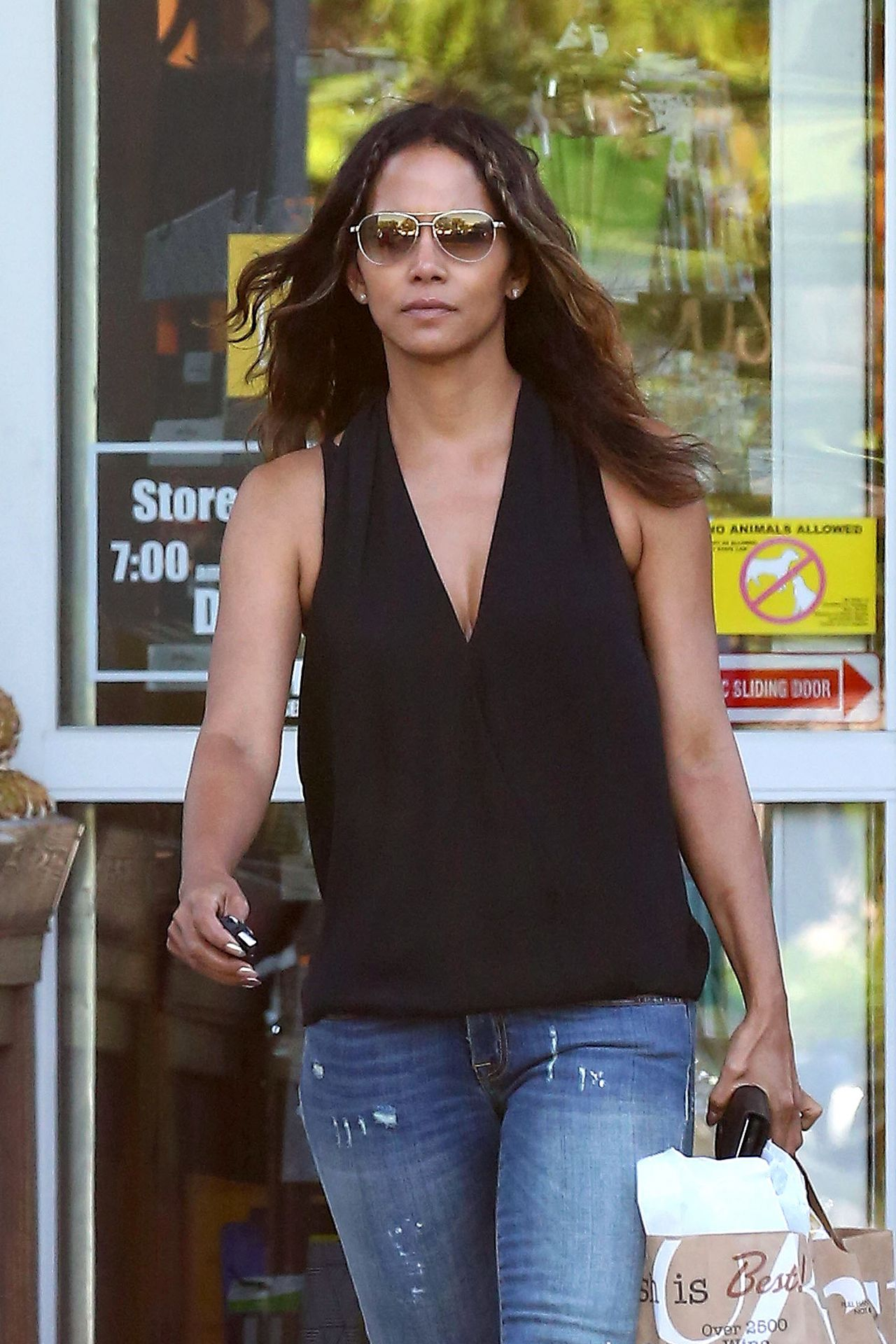 Halle Berry - Out in West Hollywood 05/04/2017