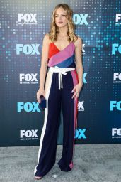 Halston Sage – Fox Upfront Presentation in NYC 05/15/2017
