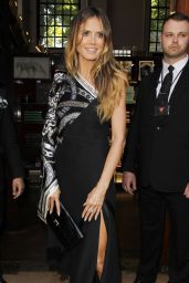 Heidi Klum - Arriving At Her Book Singing With Rankin in Central London 05/27/2017