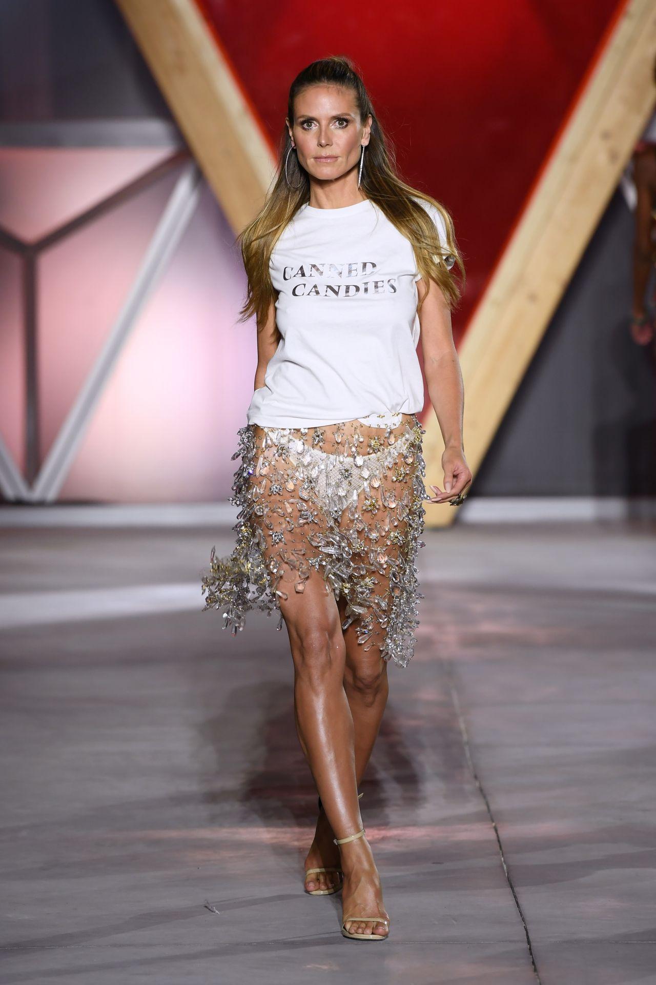 Heidi Klum Fashion For Relief At Cannes Film Festival 05
