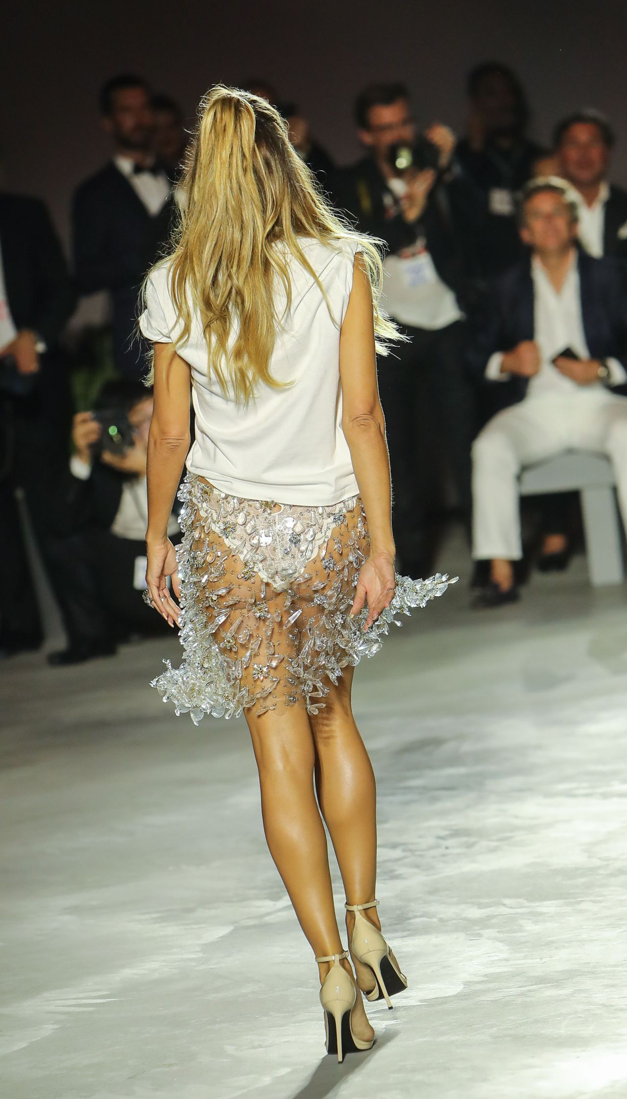 Heidi Klum Fashion For Relief At Cannes Film Festival 05