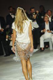 Heidi Klum – Fashion For Relief at Cannes Film Festival 05/21/2017
