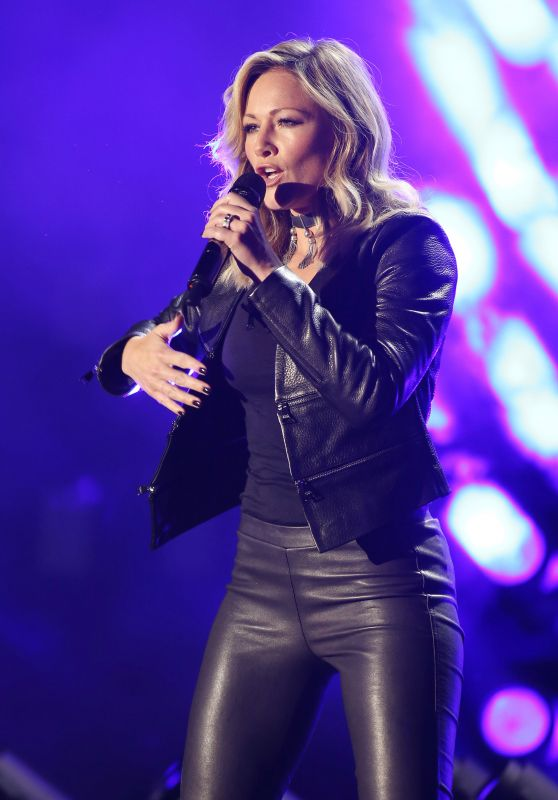 Helene Fischer Performs at Eurovision Song Contest Party in Hamburg 05/13/2017