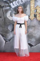 """Hermione Corfield – """"King Arthur: Legend of the Sword"""" Premiere in London 05/10/2017"""