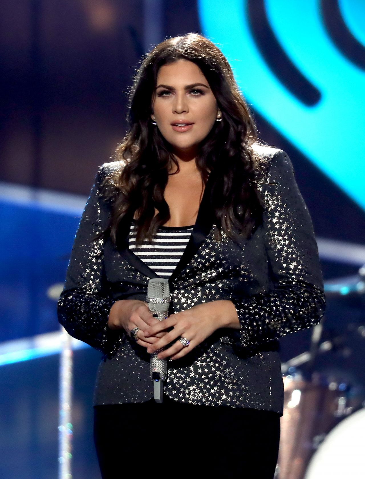 Hillary Scott Performs at iHeartCountry Music Festival in ... Hillary Scott